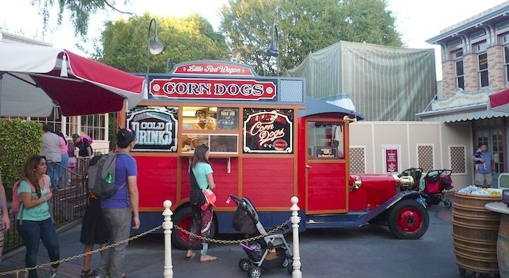 The famous Corn Dog cart