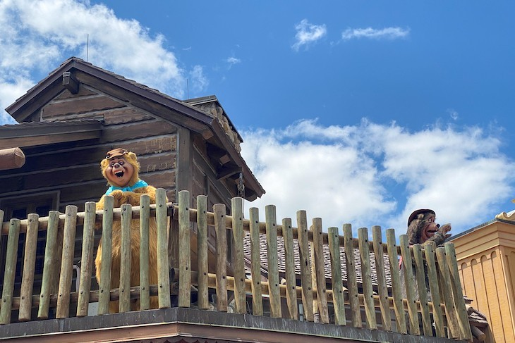 Keep an eye out for the Country Bears!