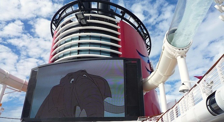 Disney Fantasy and Dream's Funnel Vision