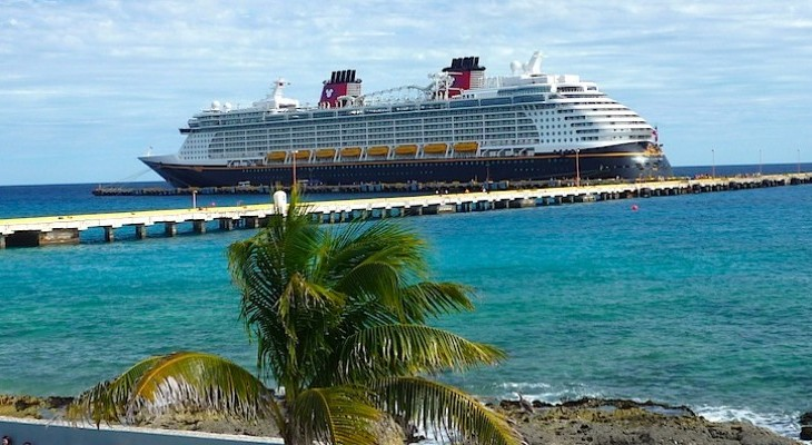 Disney Fantasy in Costa Maya, Mexico