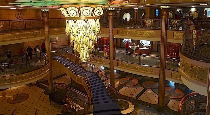 Disney Cruise Atrium Disney Fantasy Atrium