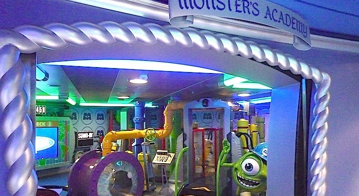 Oceaneer Club's Monster's Academy