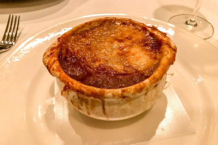 Disney Dream Royal Palace French onion soup