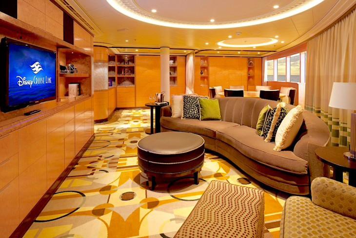 Disney Dream and Fantasy's Royal Suite