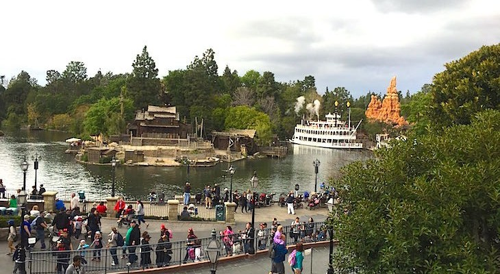 Frontierland as seen from the Dream Suite