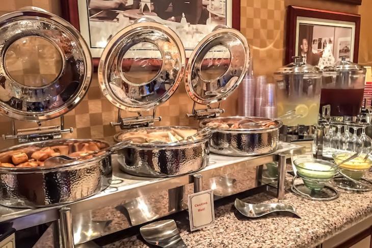 E-Ticket Club Concierge evening appetizers