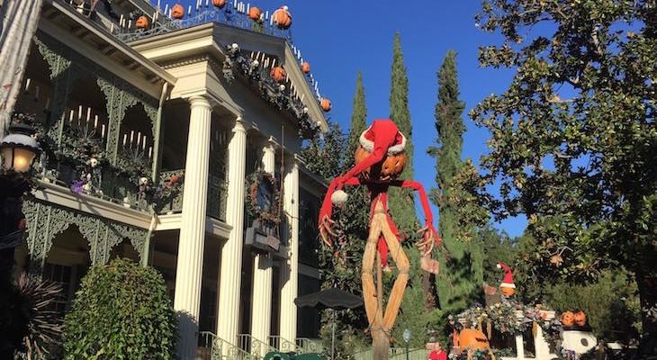 Haunted Mansion Holiday transformation