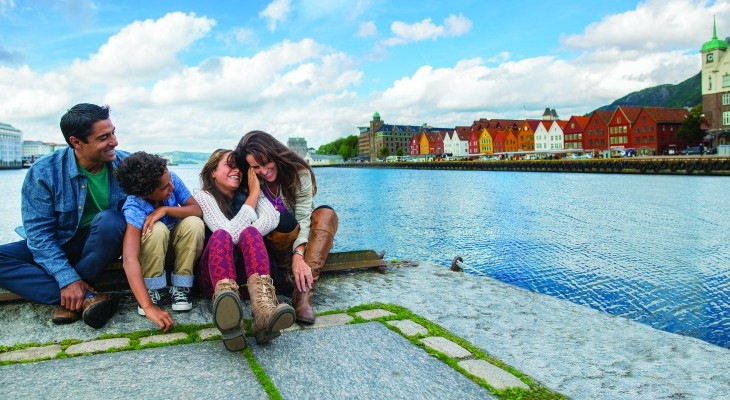 Bergen Norway waterfront