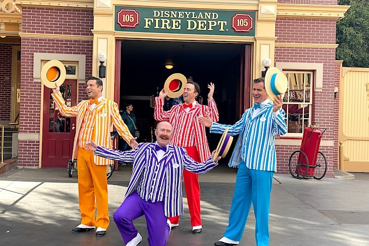 The Dapper Dans barbershop quartet
