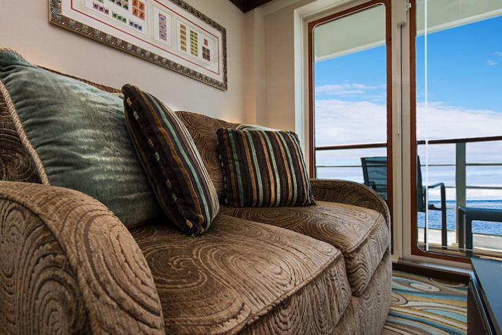 Disney Dream and Fantasy's One-bedroom Suite Living Area