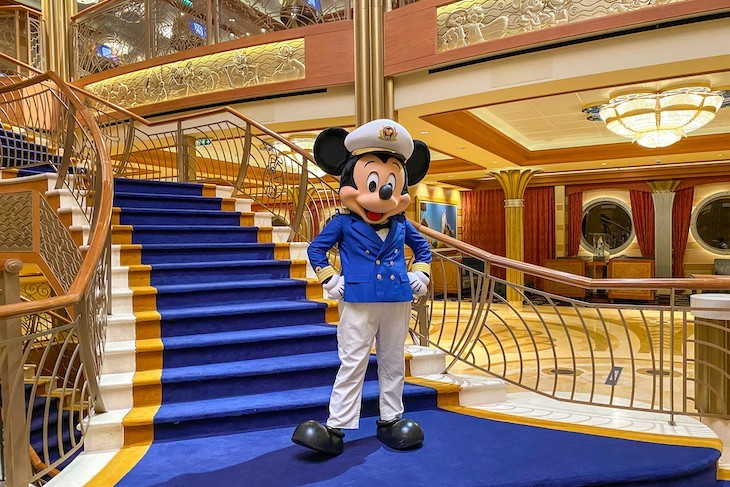 Meeting Captain Mickey is a favorite pastime onboard Disney Cruise Line!
