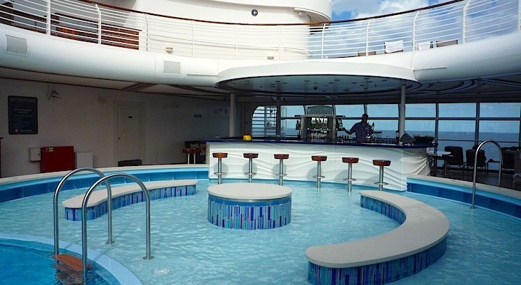 Disney Fantasy Quiet Cove Pool and Bar