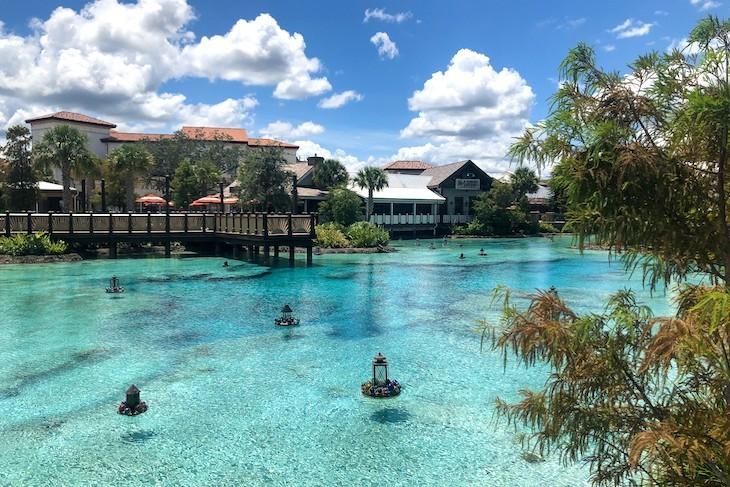 Disney Springs waterway