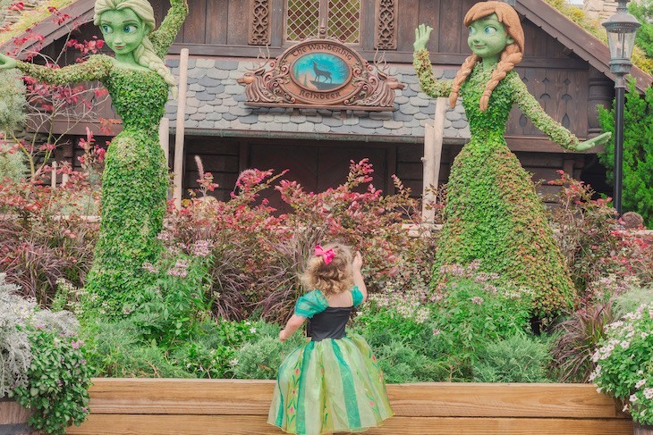 What little girl doesn't love Anna and Elsa?