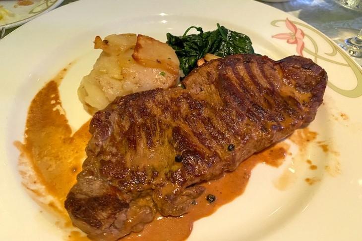 Enchanted Garden steak entree