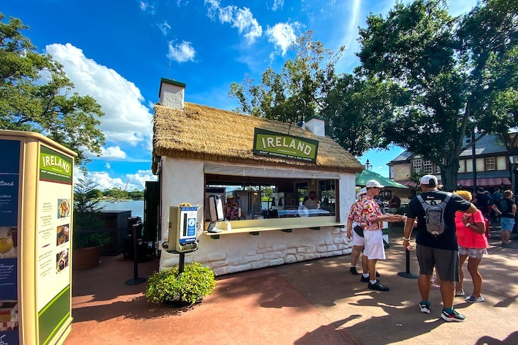 Just one of over 30 Global Marketplaces to enjoy at Epcot's International Food & Wine Festival