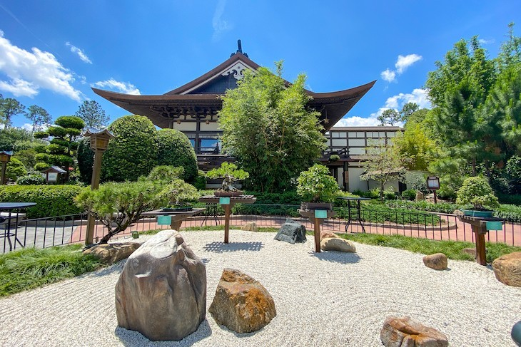 Japan rock garden