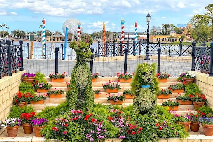 Italy during Epcot International Flower & Garden Festival