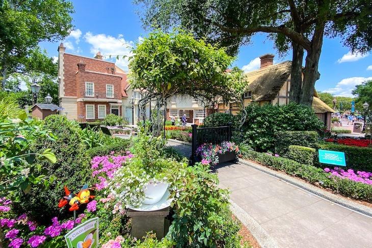 United Kingdom flower garden