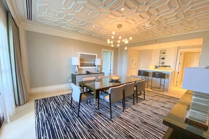 Grand Suite dining area