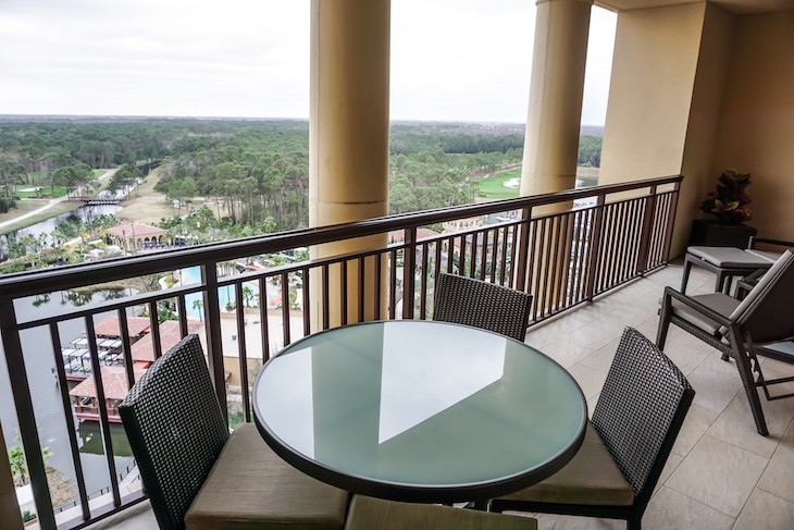 Grand Suite balcony