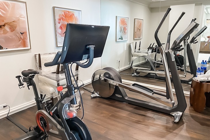 Presidential Suite Fitness Room