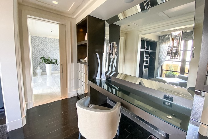 Royal Suite Master Vanity and Closet