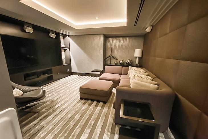 Royal Suite Media Room