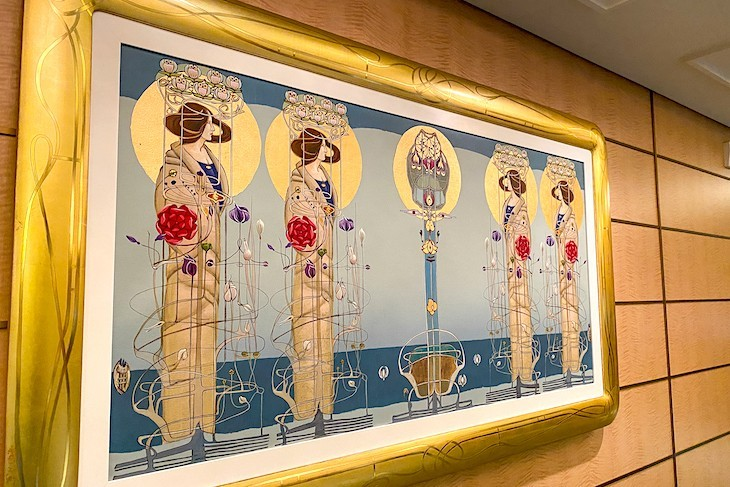 Art Nouveau on Disney Fantasy