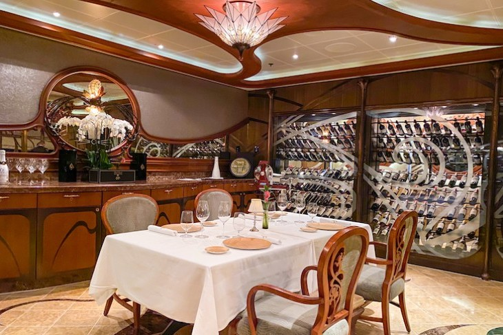 Remy, Disney Fantasy, The Wine Room