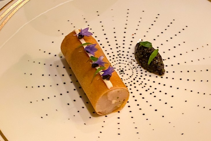 Remy's beautifully presented food