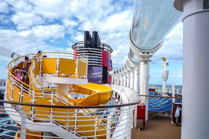 Disney Fantasy and Dream Pool Deck