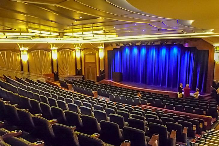Disney Fantasy and Dream's Buena Vista Theater