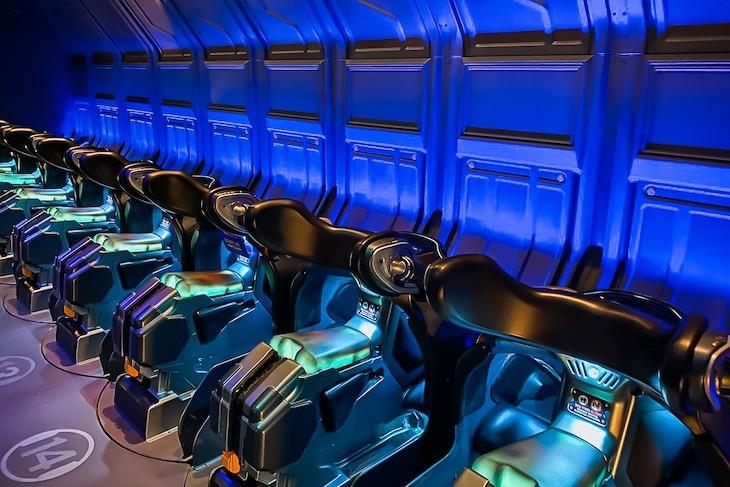 Avatar Flight of Passage boarding area