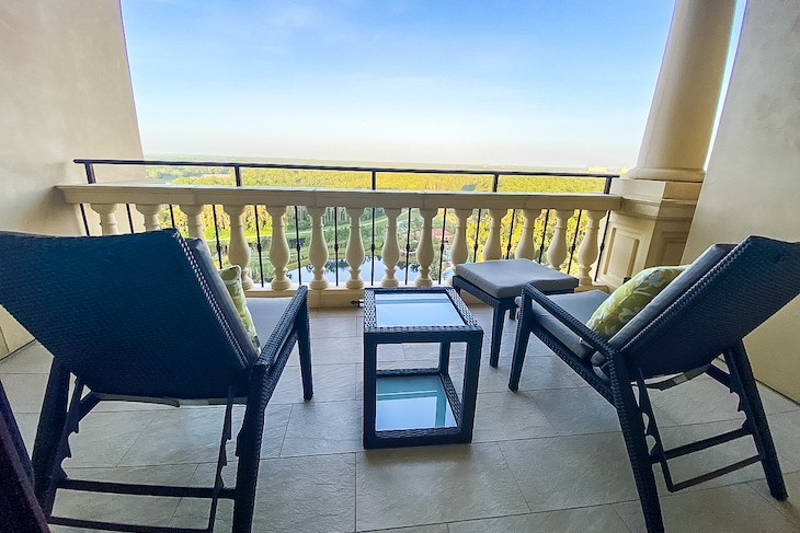 Park View room balcony