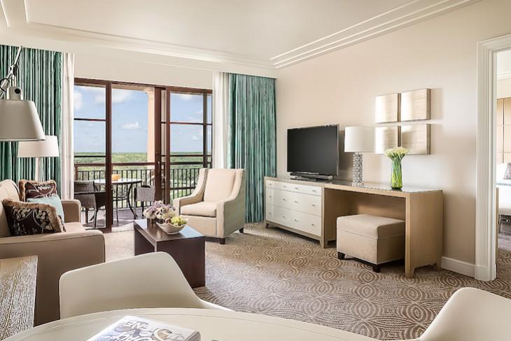 Park View Suite Living Area