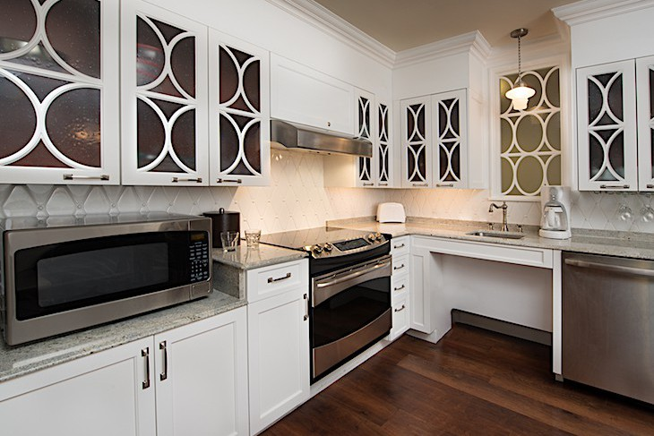 One- and Two-Bedroom Villa Kitchen