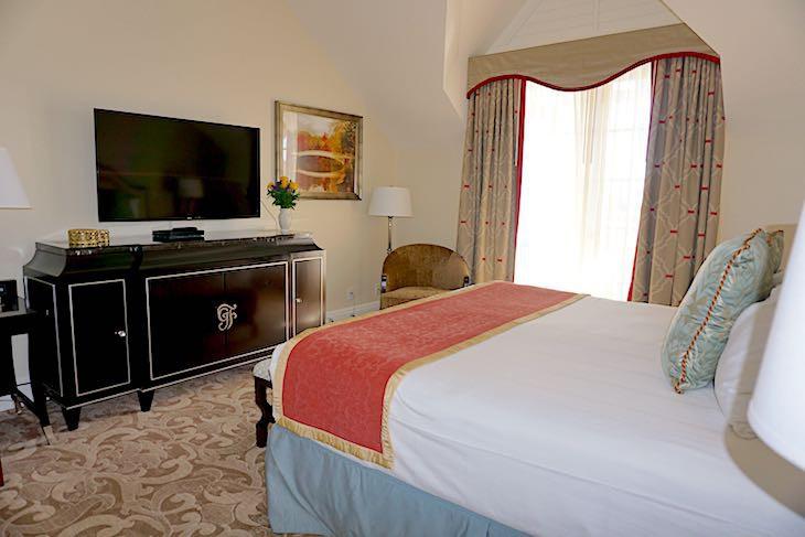 Two-bedroom Main Building Suite Master Bedroom