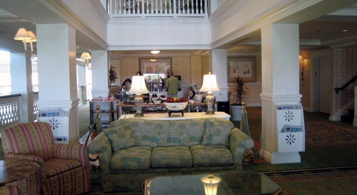 Grand Floridian's Royal Palm Club concierge lounge