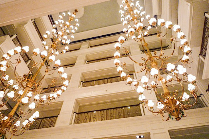 The Villas at Disney's Grand Floridian Resort & Spa Atrium