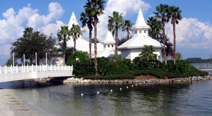 Grand Floridian's wedding chapel