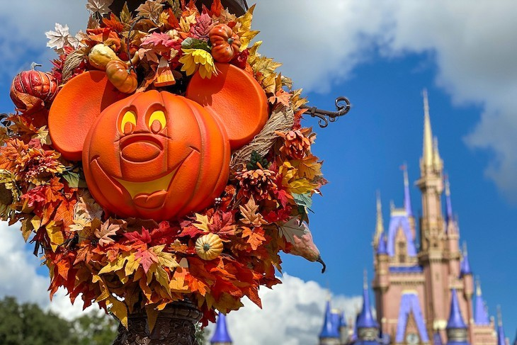 Magic Kingdom at Halloween time