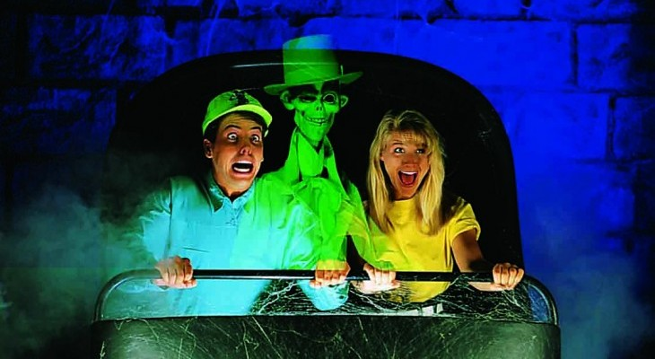 Haunted Mansion's Hitchhiking Ghosts