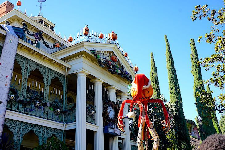 Haunted Mansion Holiday transformation