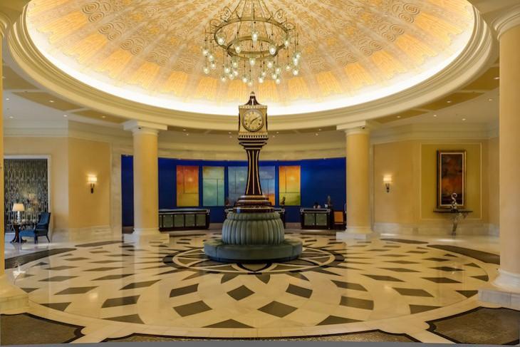 Waldorf Astoria lobby and iconic clock
