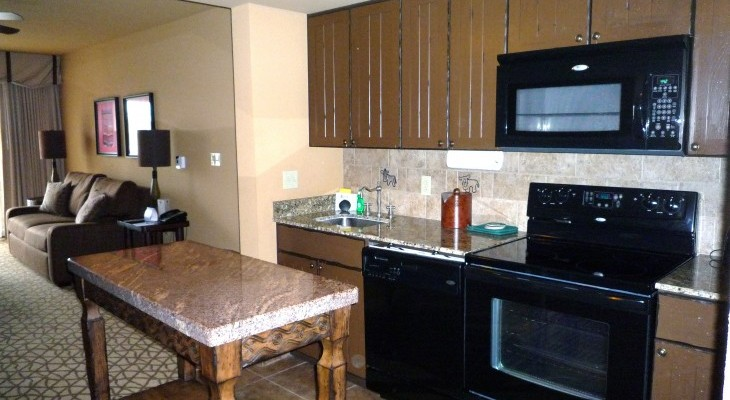 One-, and Two-bedroom Kitchen