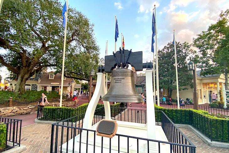 Liberty Square's Liberty Bell