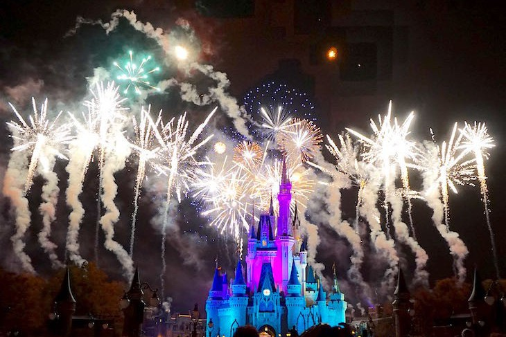 What better way to end the evening than with this spectacular fireworks show.