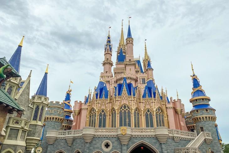 Cinderella Castle from Fantasyland