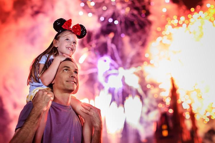 Walt Disney World Resort's best fireworks show is held most nights at Magic Kingdom. It's a must!
